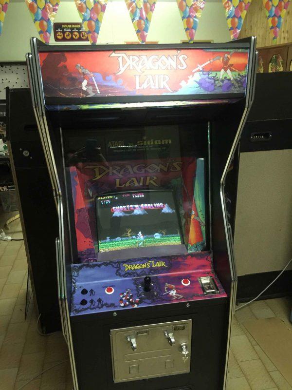 Sidam Dragon's Lair,arcade,videogame,cabinet,originale,replica