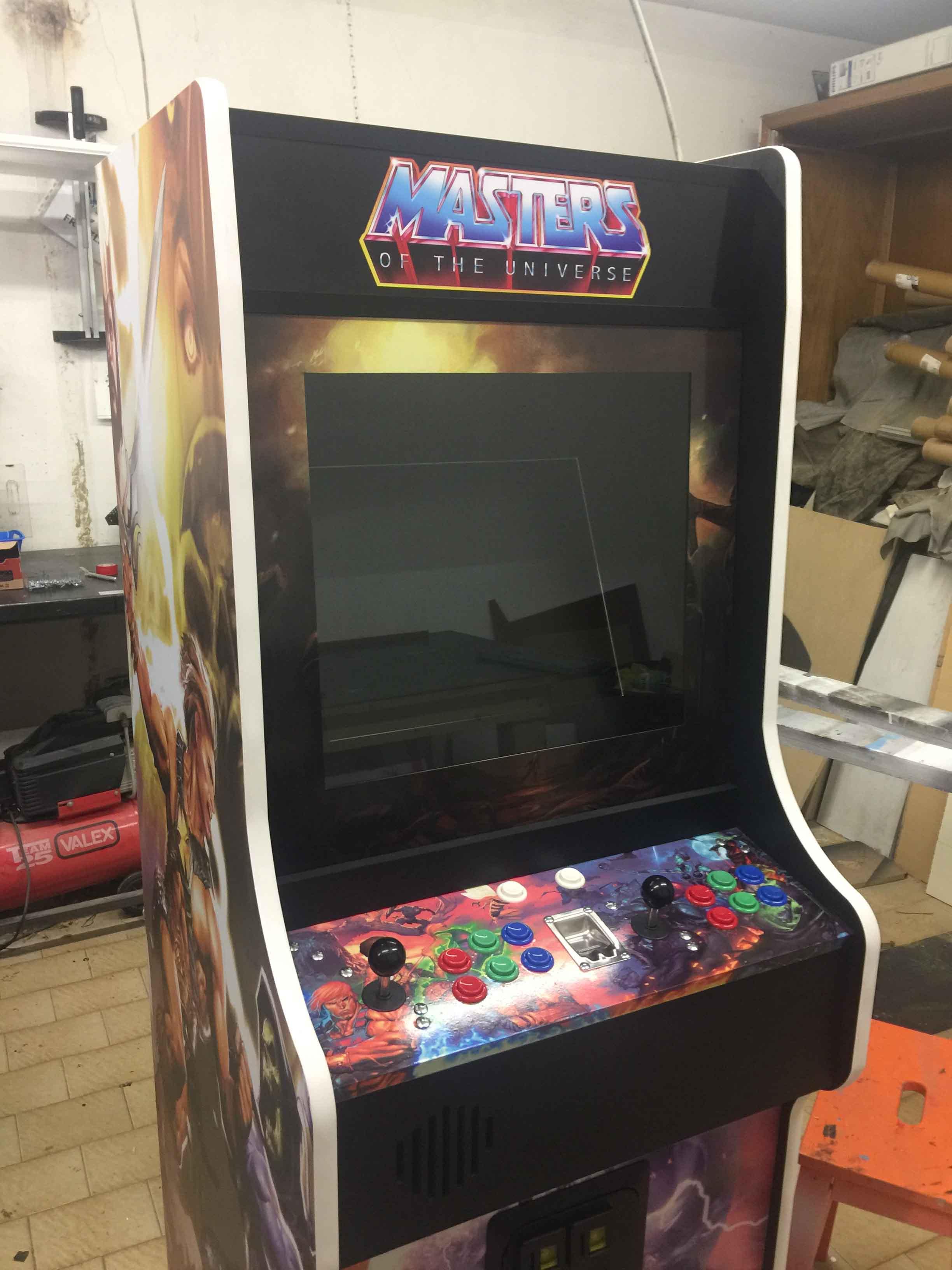 Videogame Arcade Cabinato Master Of Universe Replica