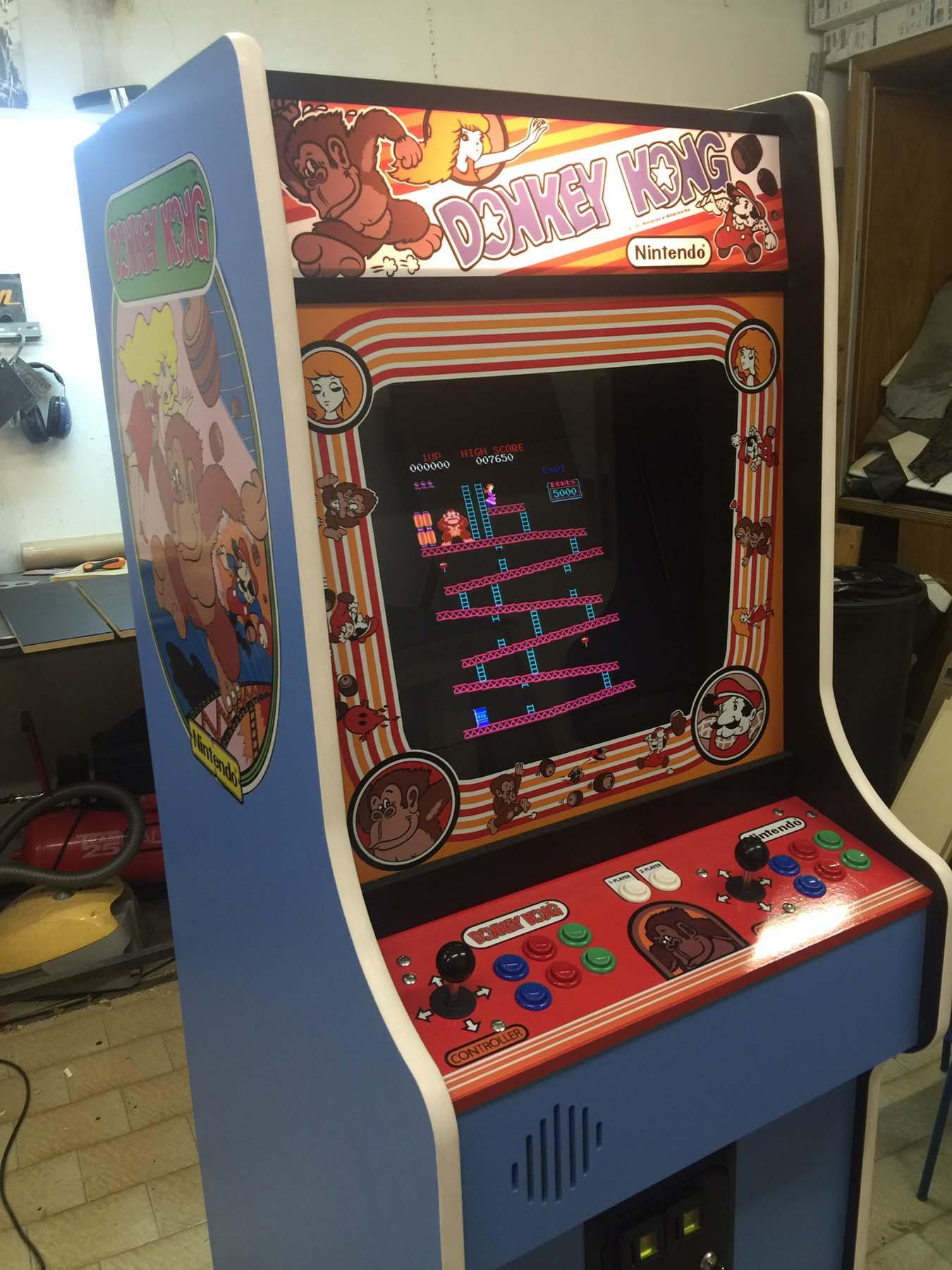 Videogame Arcade Cabinato Donkey Kong Replica Originale