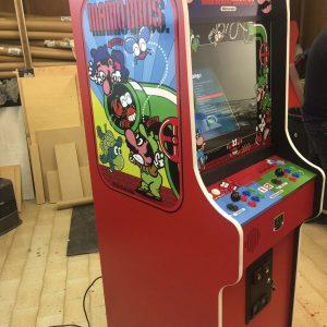 mario Bros,rosso,videogame,arcade,cabinet,anni 80,