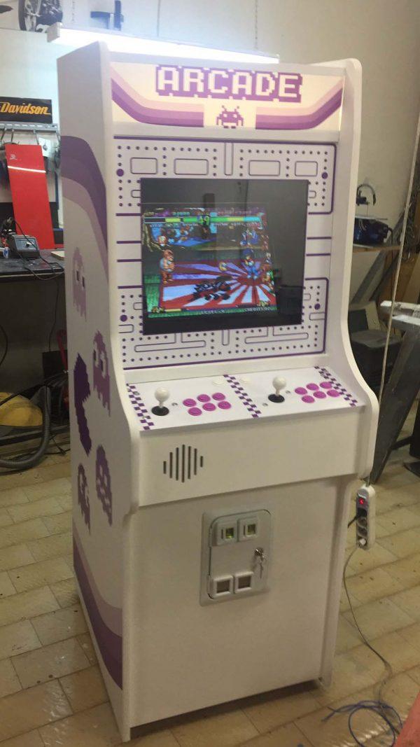 custom,arcade,cabinet,nintendo,videogame,anni 80