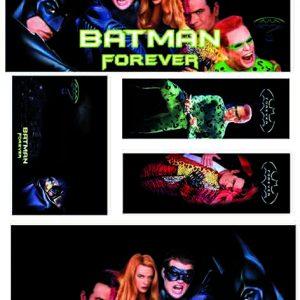 pinball,Batman,Forever,custom,decals,adesivi,flipper