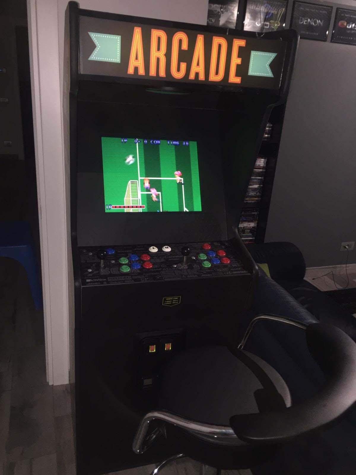 Videogame Arcade Cabinato Personalizzato Custom Videogame