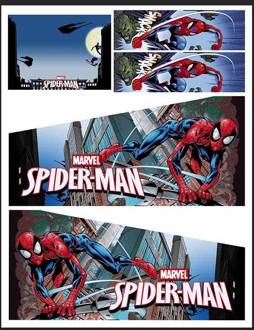 Stern Spiderman Vault