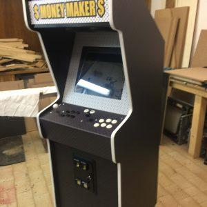 louis vuitton,cabinet,arcade,custom,artwork,anni 80,vintage,