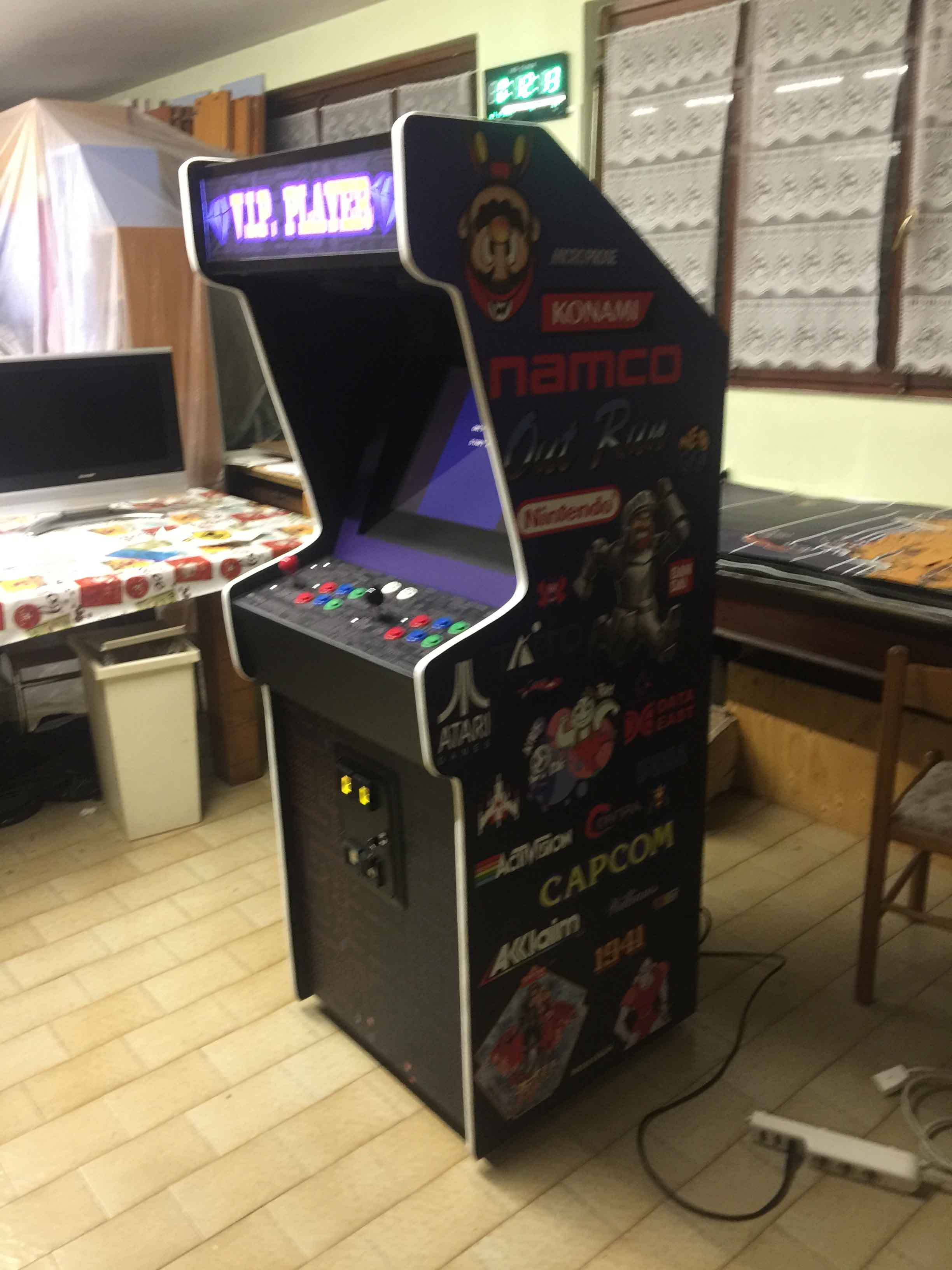 Videogame Cabinato Custom Arcade Artwork Videogame Atari