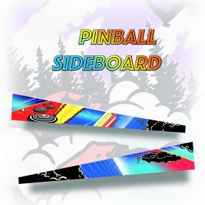 Pinball Sideboard Decals