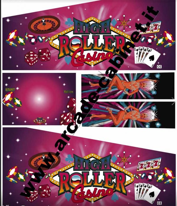 Pinball decals